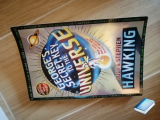 George's secret key to the universe by Lucy & Stephen Hawking in lingua inglese