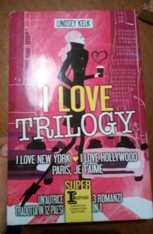 I love trilogy, trilogia composta da I love New York, Paris je t'aime e I love Hollywood